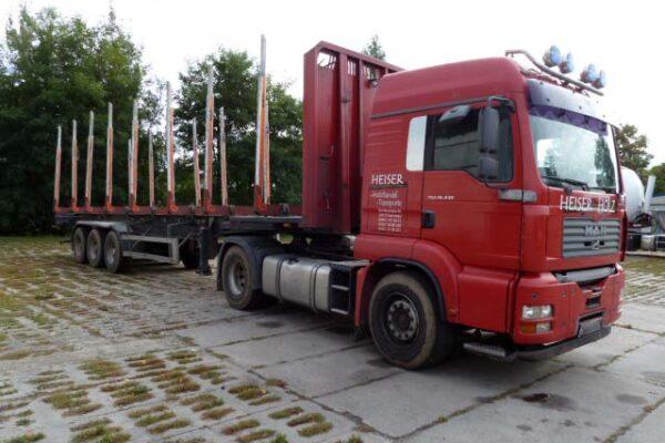 Heiser Holztransporte